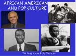 african americans and pop culture