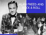 alan freed and rock roll