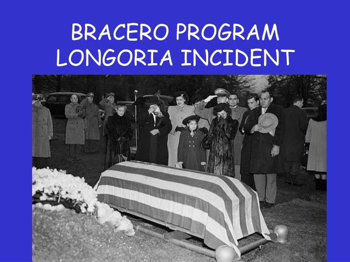 BRACERO PROGRAM