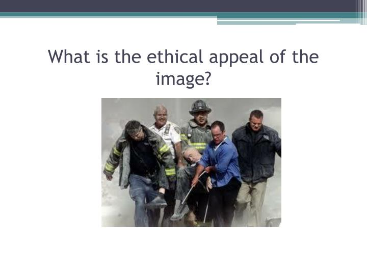 What is the ethical appeal of the image?
