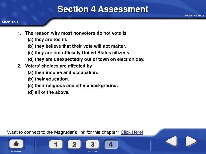 Section 4 Assessment
