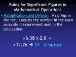 rules for significant figures in mathematical operations2