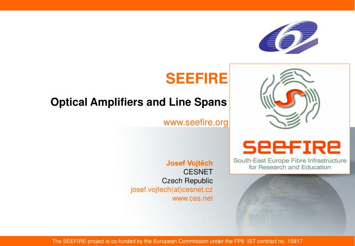 optical amplifiers and line spans
