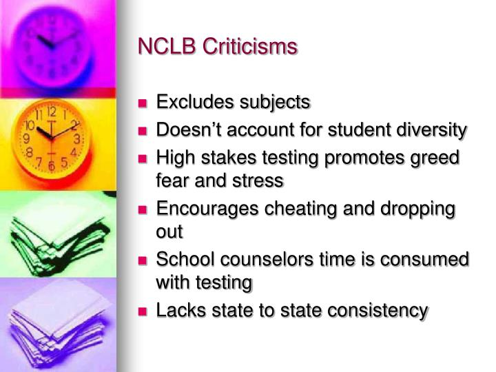 NCLB Criticisms