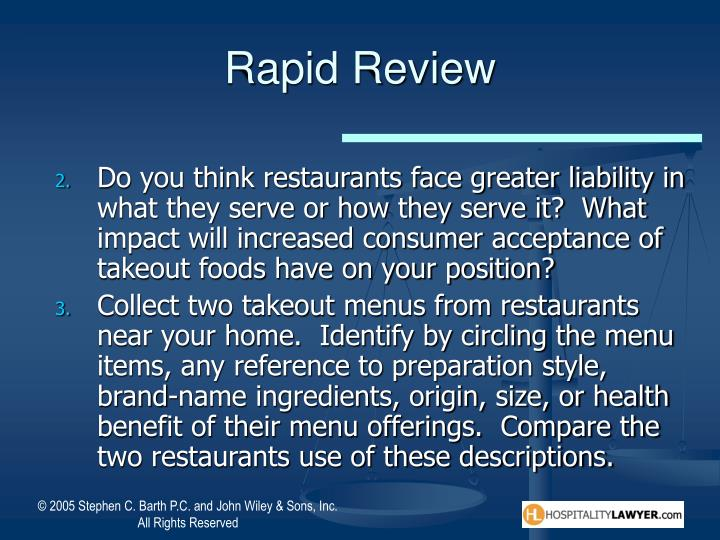 Rapid Review