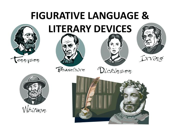 Figurative language literary devices