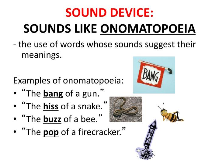 SOUND DEVICE: