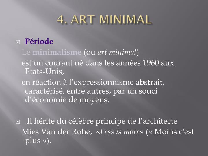 4. ART MINIMAL