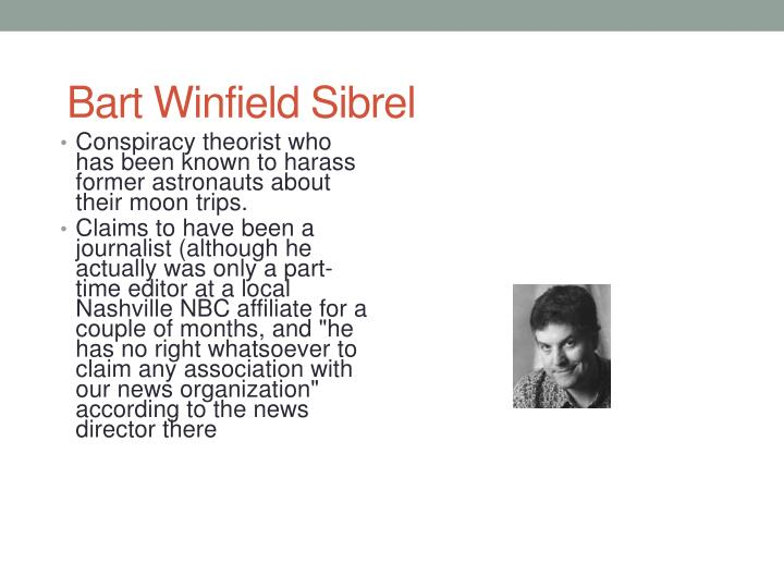 Bart Winfield Sibrel