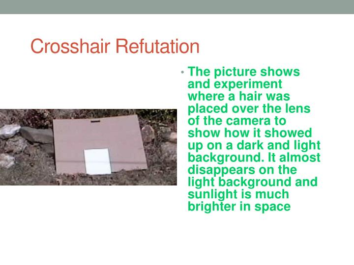 Crosshair Refutation