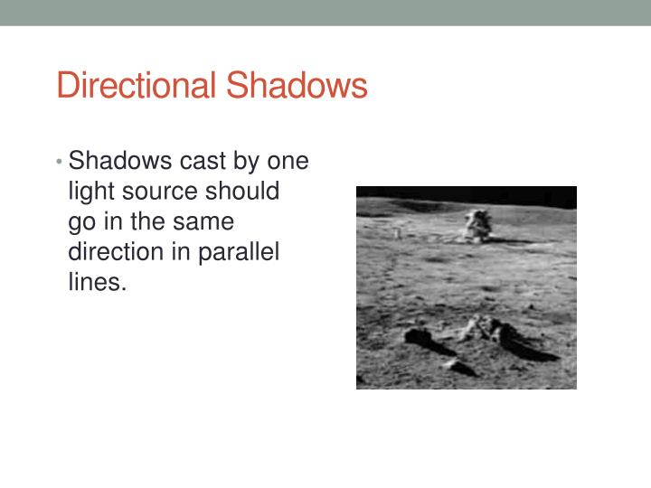 Directional Shadows