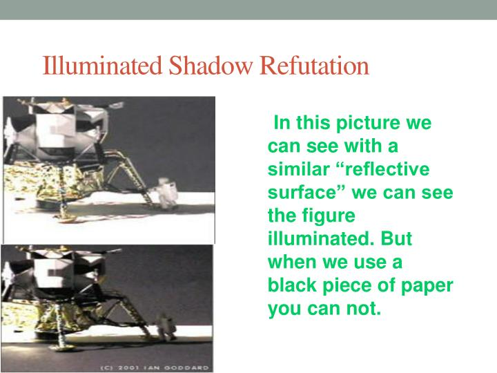 Illuminated Shadow Refutation