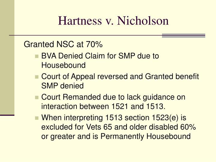 Hartness v. Nicholson