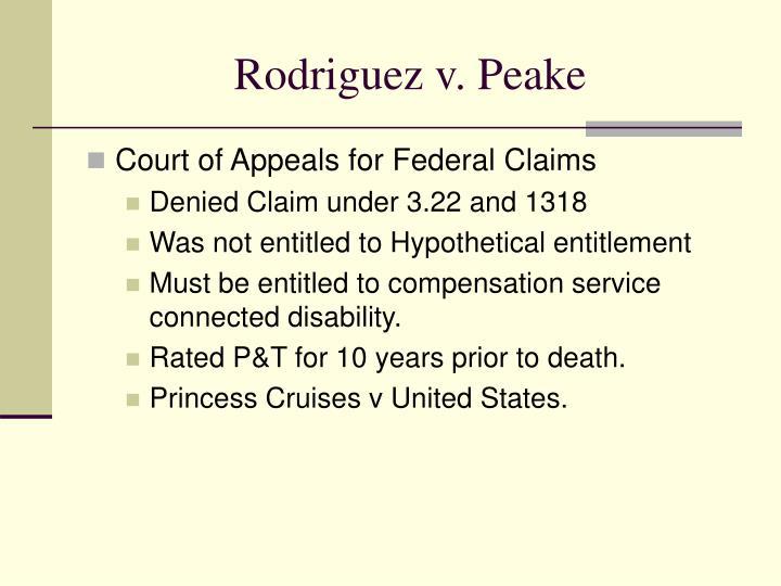 Rodriguez v. Peake