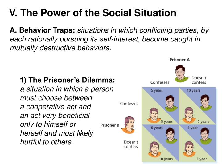 V. The Power of the Social Situation