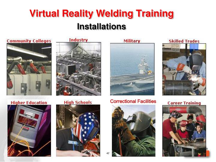 Virtual Reality Welding Training