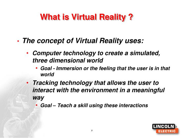 What is Virtual Reality ?