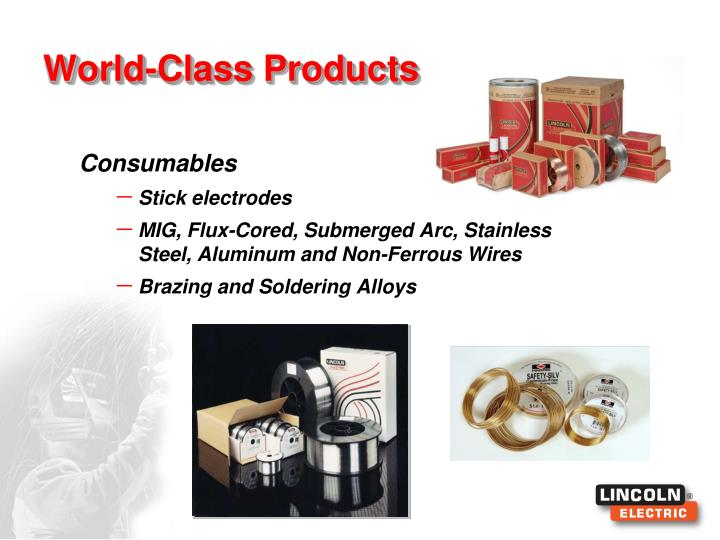 World-Class Products