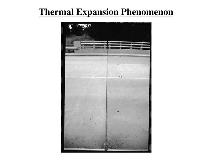 Thermal Expansion Phenomenon