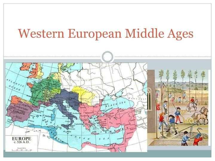 Western european middle ages