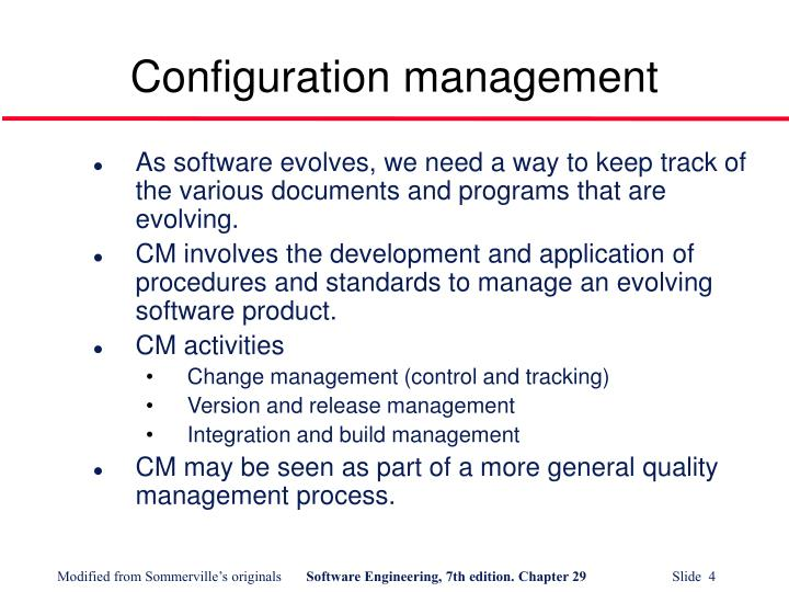 Configuration management1