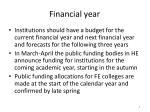 financial year1