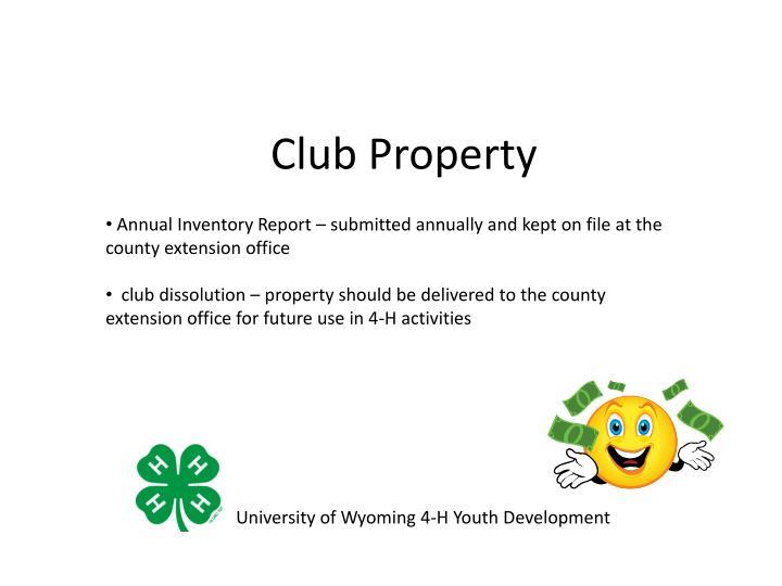 Club Property