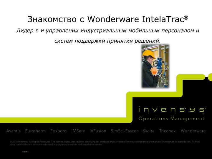 wonderware intelatrac