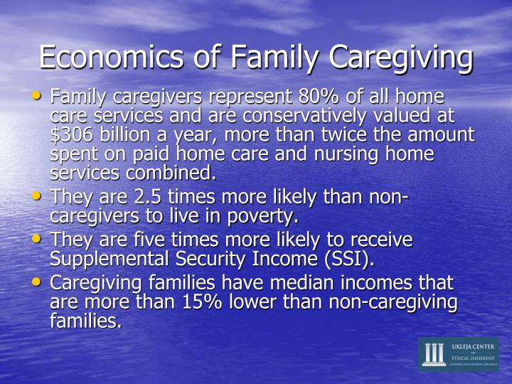 Economics of Family Caregiving
