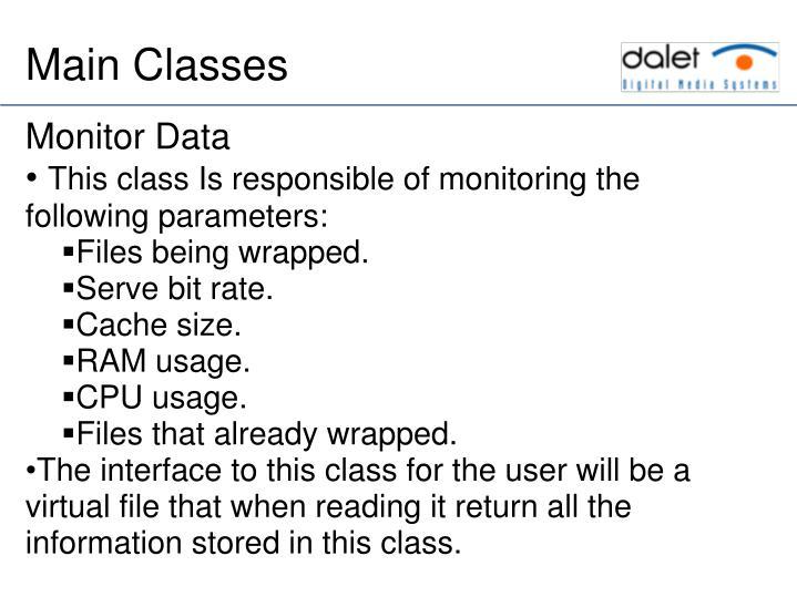Monitor Data