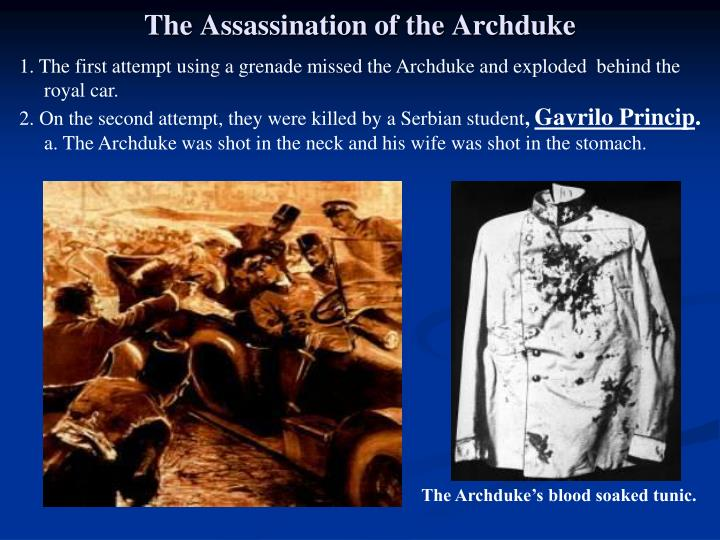 The Assassination of the Archduke