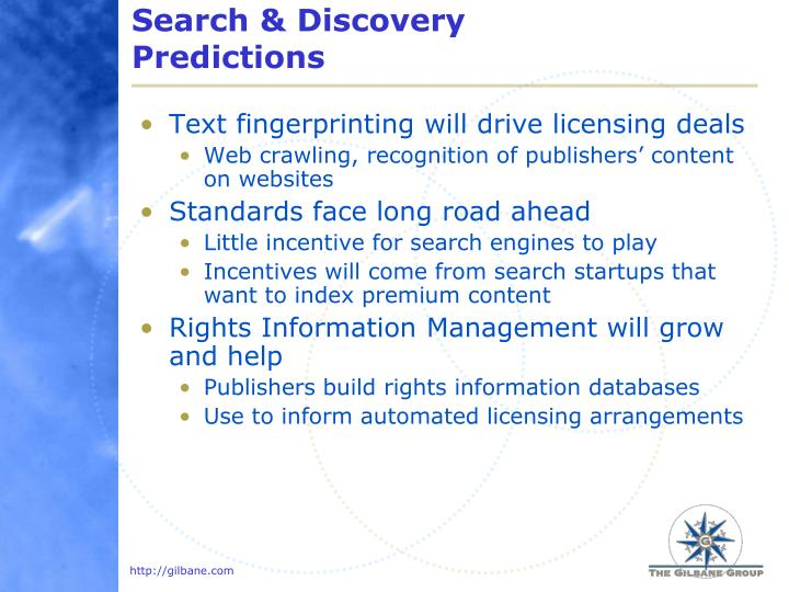 Search & Discovery