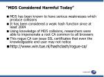 md5 considered harmful today