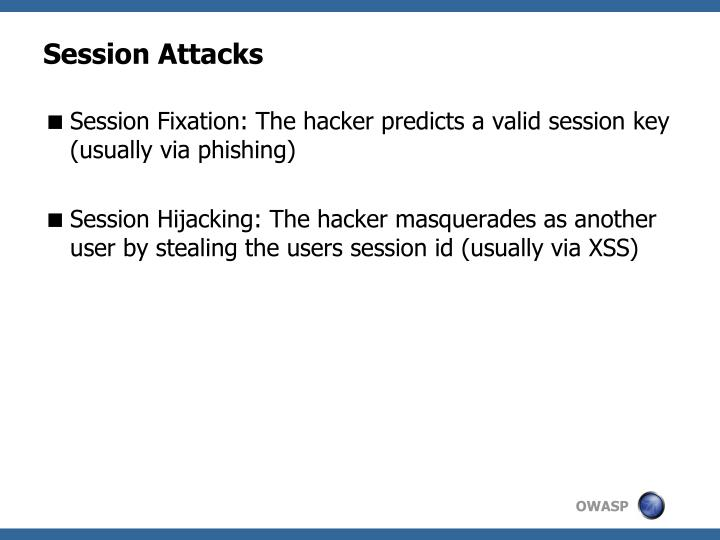 Session Attacks