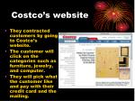 costco s website