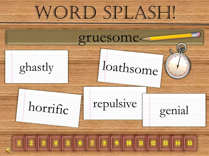 Word Splash!