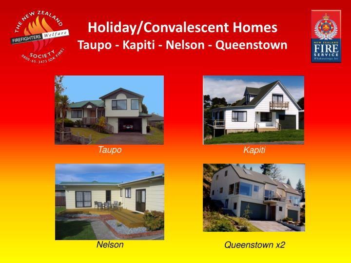 Holiday/Convalescent Homes
