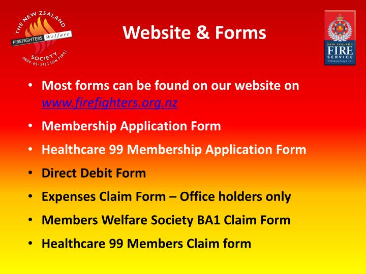 Website & Forms