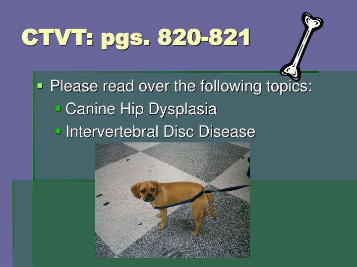 CTVT: pgs. 820-821