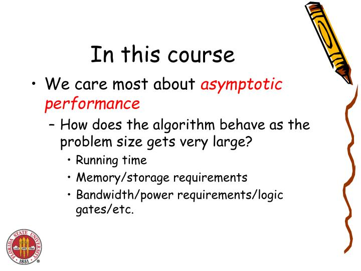 In this course