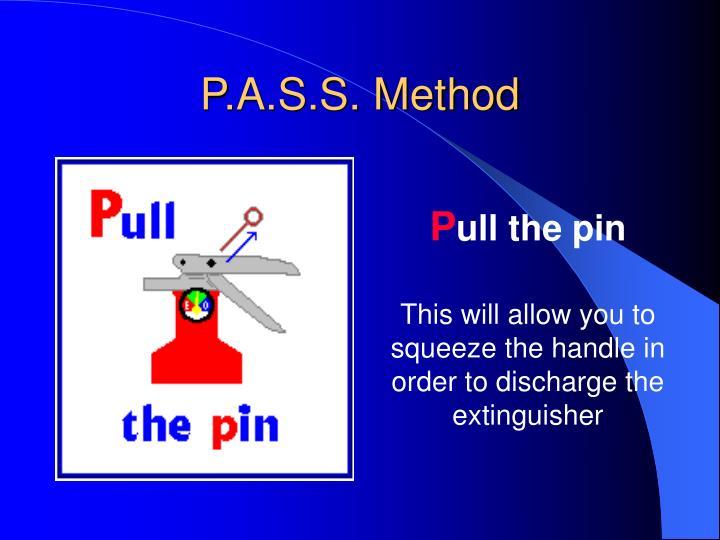 P.A.S.S. Method