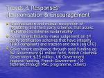 trends responses harmonisation encouragement