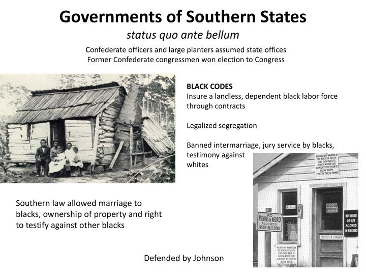 Governments of Southern States