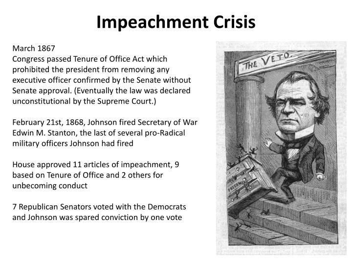 Impeachment Crisis