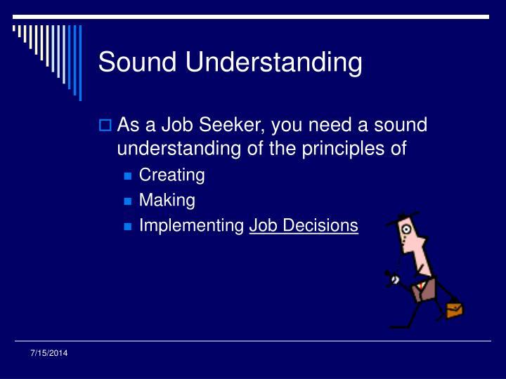 Sound Understanding