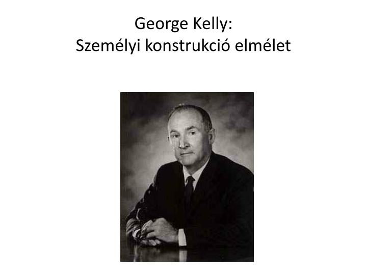 George Kelly: