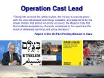 operation cast lead