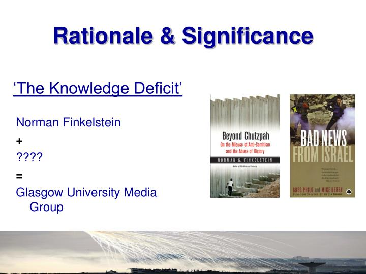Rationale & Significance