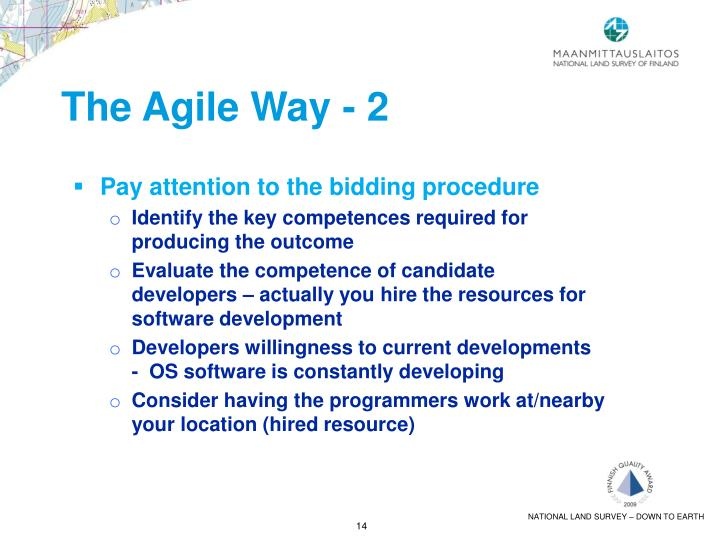 The Agile Way - 2