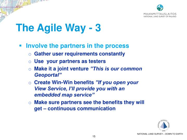 The Agile Way - 3